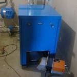 Водогрейный котел с вихревой горелкой мощностью от 1МВт до 10МВт